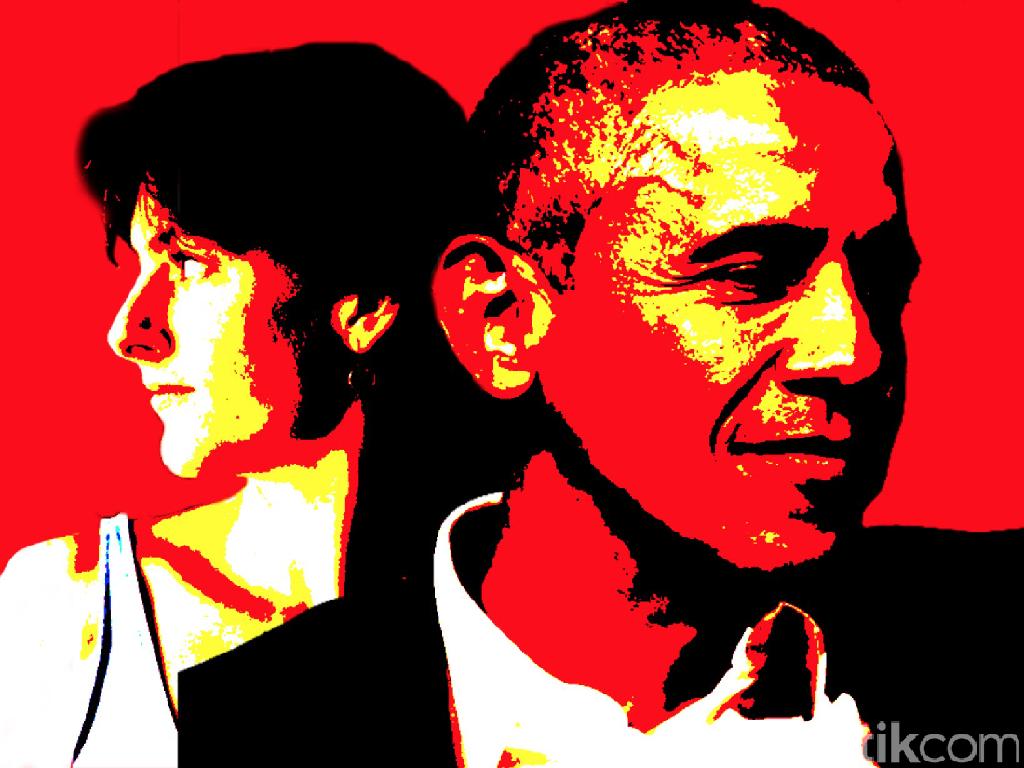 Cinta Putih Barack Obama