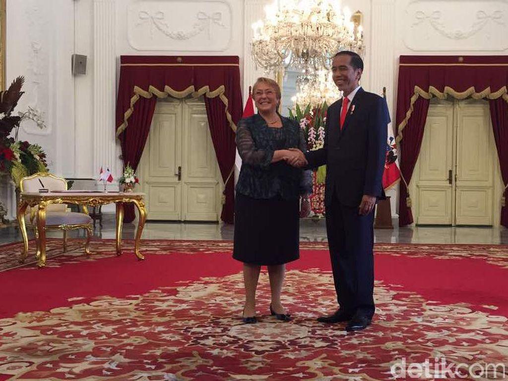 Jokowi Apresiasi Dukungan Chile agar RI Masuk Anggota DK PBB