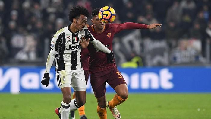 Juventus vs Roma bulan Desember lalu (Foto: Valerio Pennicino/Getty Images)