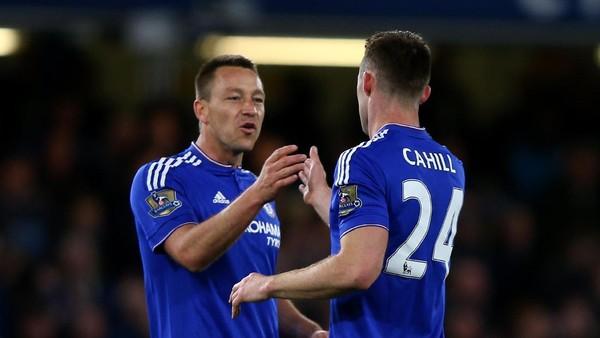 Terry dan Cahill akan Angkat Trofi Juara Chelsea di Stamford Bridge