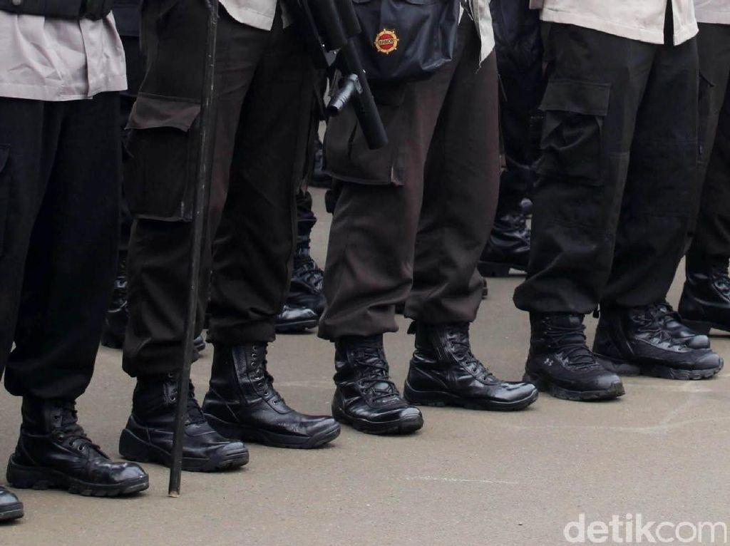 Mahasiswa Demo di Uncen, Polisi Blokade Jalan Abepura Jayapura