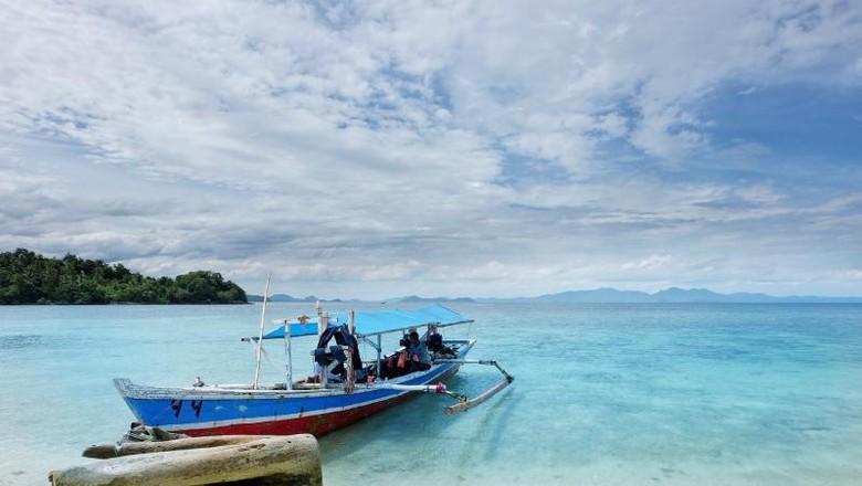 Pulau Pahawang yang elok (I Gede Leo Agustina/dtraveler)