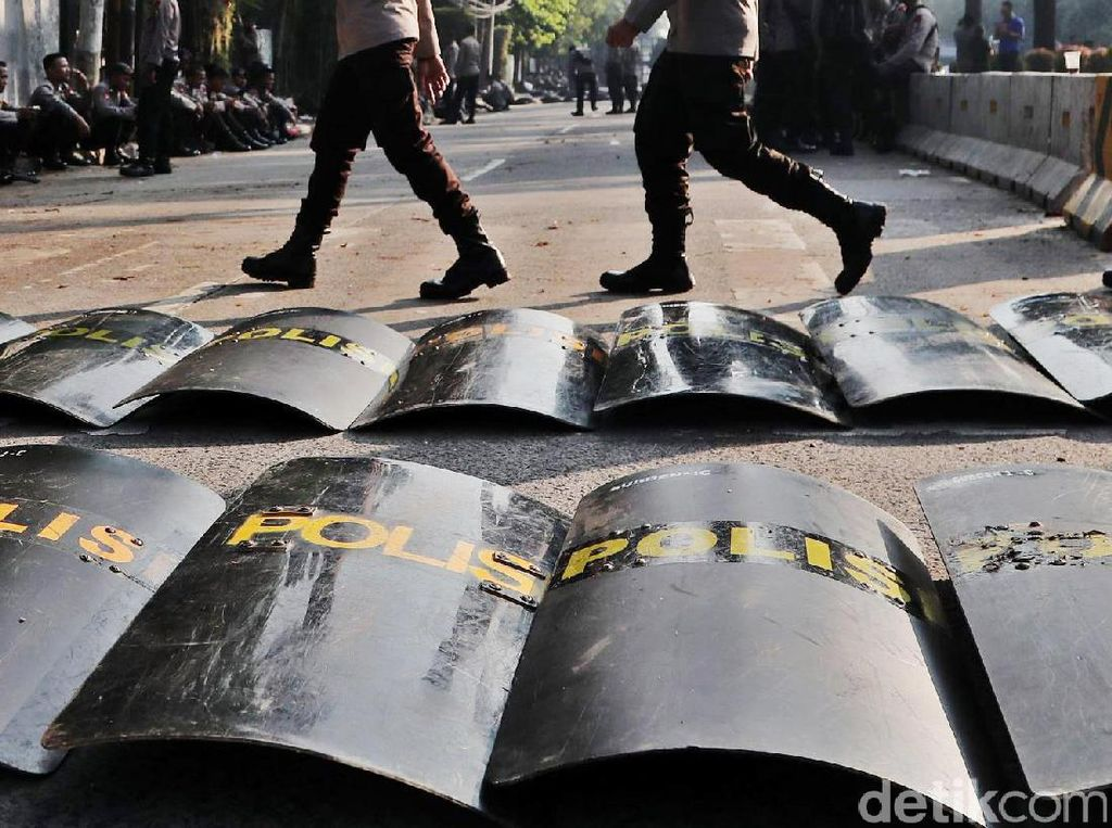 3 Polisi Korban Rusuh 22 Mei Masih Dirawat di RS Polri