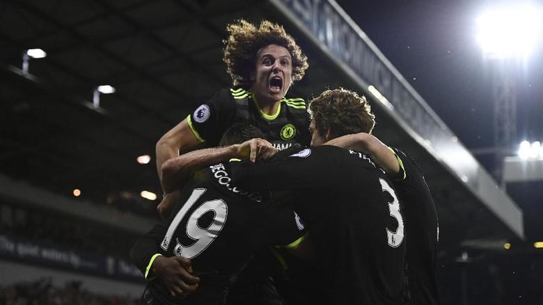 Gol Tunggal Batshuayi Antar Chelsea Jadi Juara