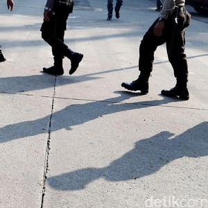 Keributan 2 Kelompok Terjadi di Demo Hari Antikorupsi di Kejari Bulukumba