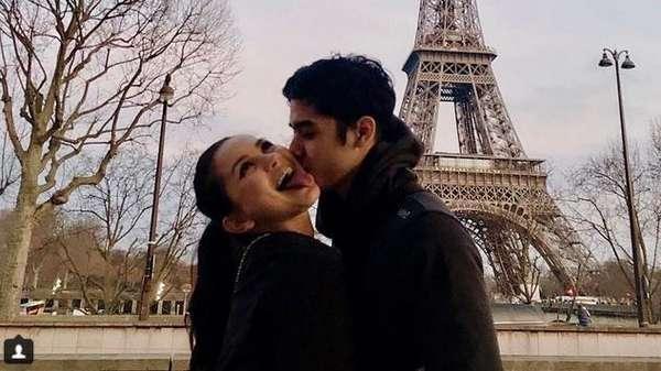 Menara Eiffel sampai Renang Bareng, Momen-momen Mesra Al dan Alyssa Daguise