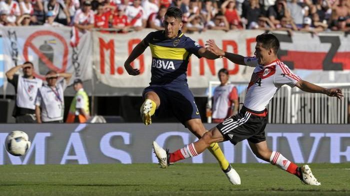 Superclasico antara Boca Juniors vs River Plate (Foto: AFP PHOTO / ALEJANDRO PAGNI)