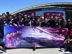 Begini Kisah Seru Pemegang Mega Barça Card Jelajahi Kota Barcelona