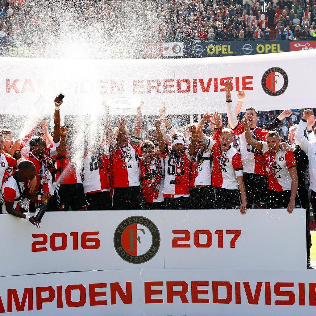Trigol Kuyt Pastikan Feyenoord Juara Liga Belanda