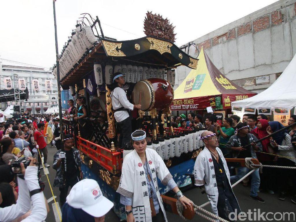 Meriahnya Festival Budaya Jepang