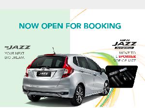 Honda Malaysia Sudah Buka Inden Jazz Terbaru
