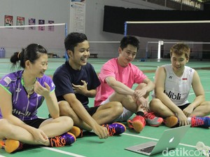 Ini Video Live Chat detikSport dengan Anthony, Debby dan Kevin/Marcus