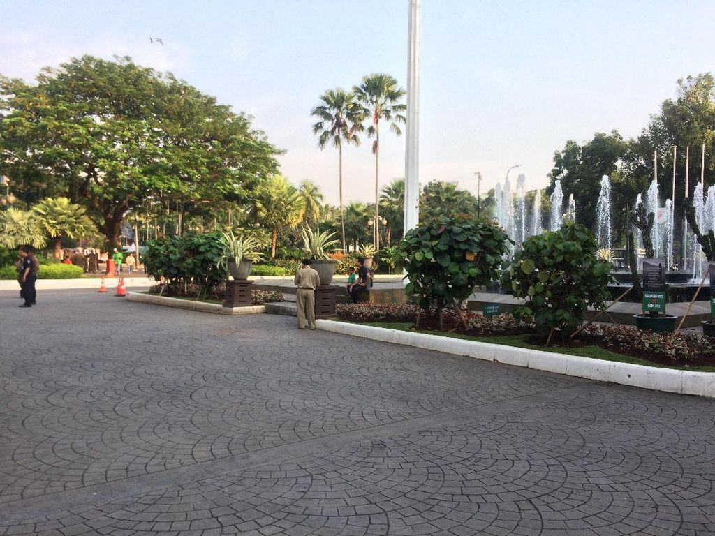 Balai Kota Kini Bersih dari Karangan Bunga Ahok