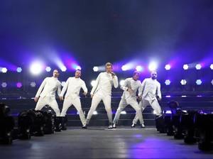 Makin Tua, Backstreet Boys Makin Energik di Wango Tango