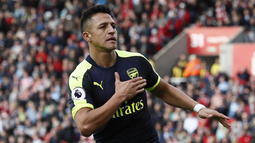 Sanchez Dikaitkan dengan PSG, Wenger: Itu Hanya Imajinasi Media