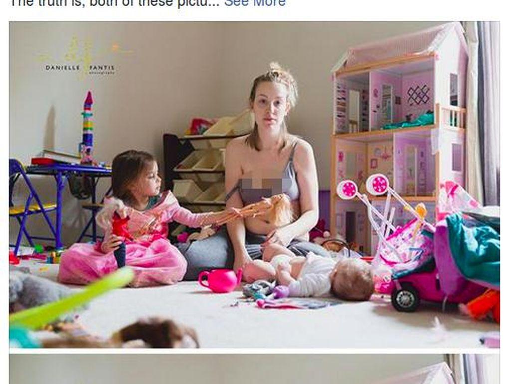 Foto Ini Tunjukkan Sisi Lain Kehidupan Ibu Pasca Melahirkan