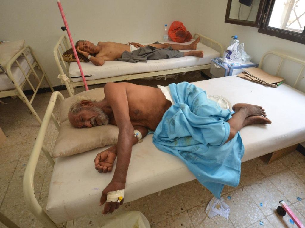 180 Orang Meninggal Akibat Kolera di Yaman