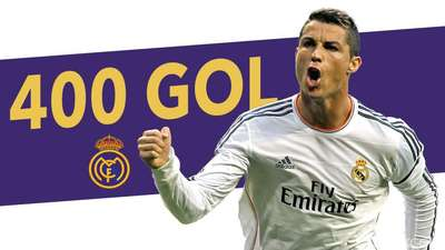 400+ Gol Ronaldo untuk El Real