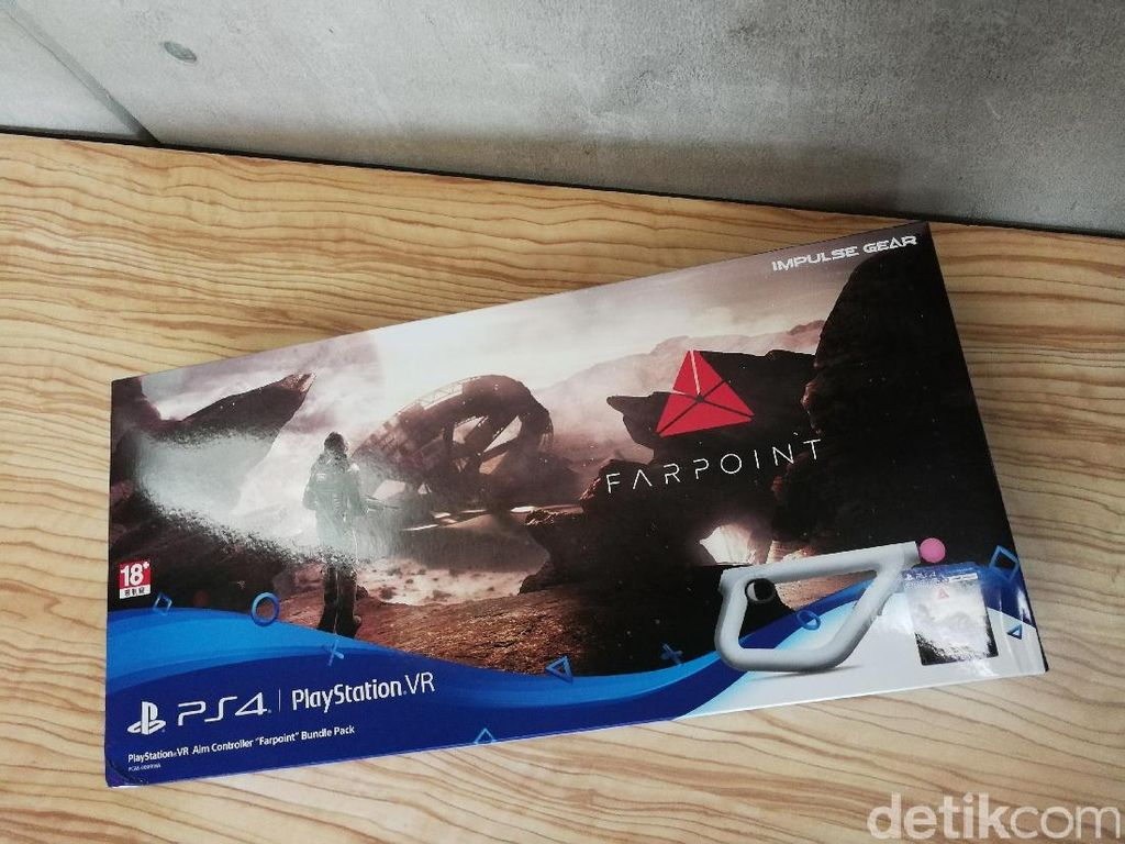Unboxing Senjata Virtual Farpoint