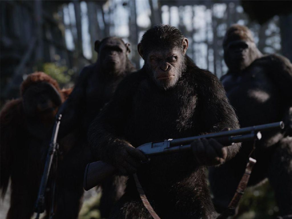 Trailer Final War for the Planet of the Apes, Perang Para Kera vs Manusia
