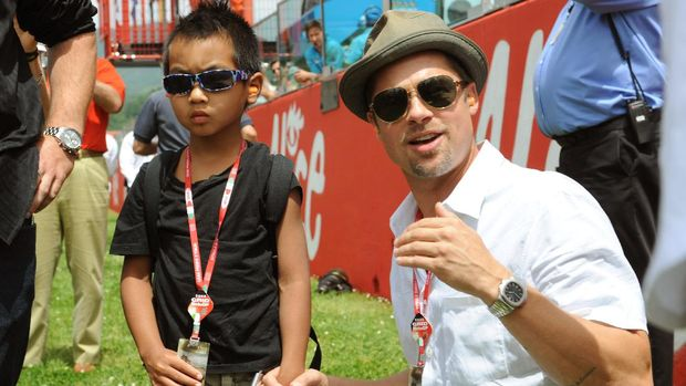 Putra Angelina Jolie Bicara Hubungan dengan Brad Pitt