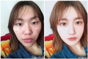 Wanita China Ini Viral Berkat Jago Bikin Wajah Super Cantik