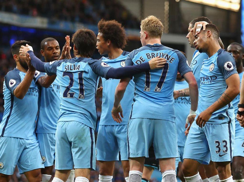 Demi Lolos Langsung ke Liga Champions, City Ingin Amankan Posisi Tiga