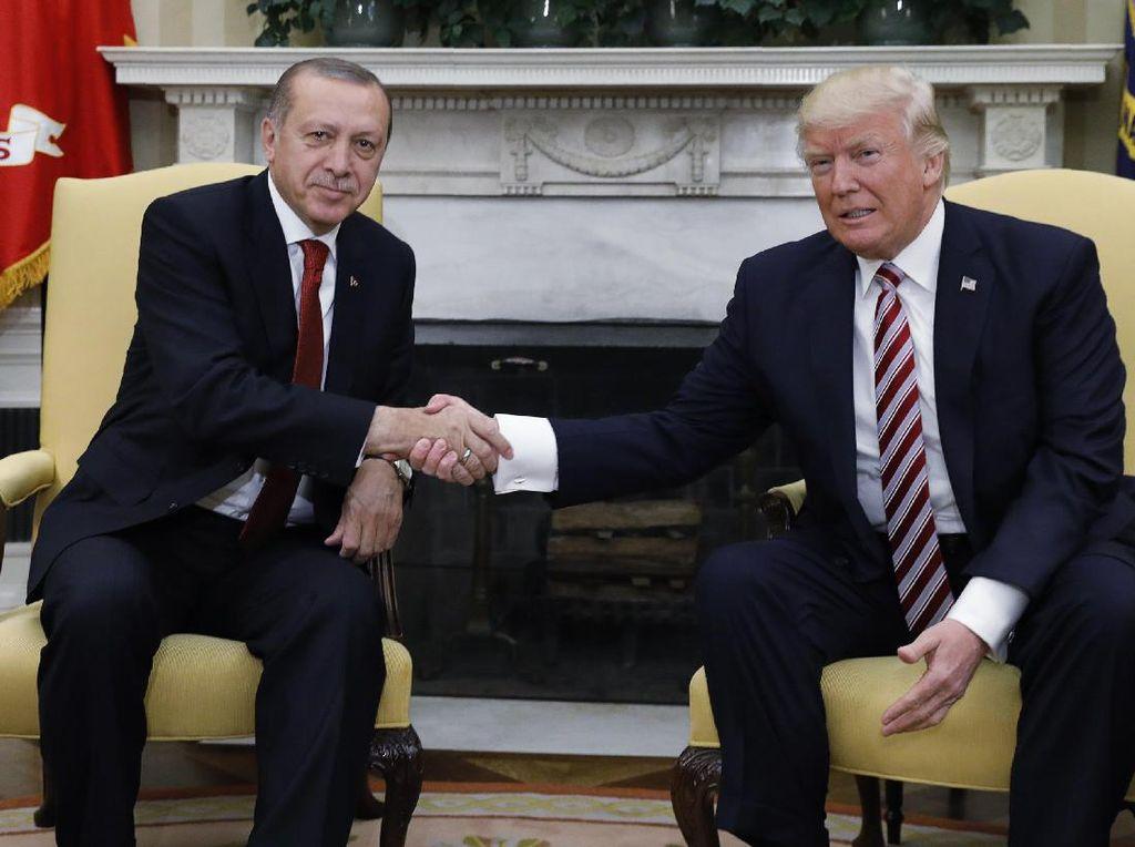 Marah, Erdogan: Hei Trump! Apa yang Ingin Anda Lakukan?