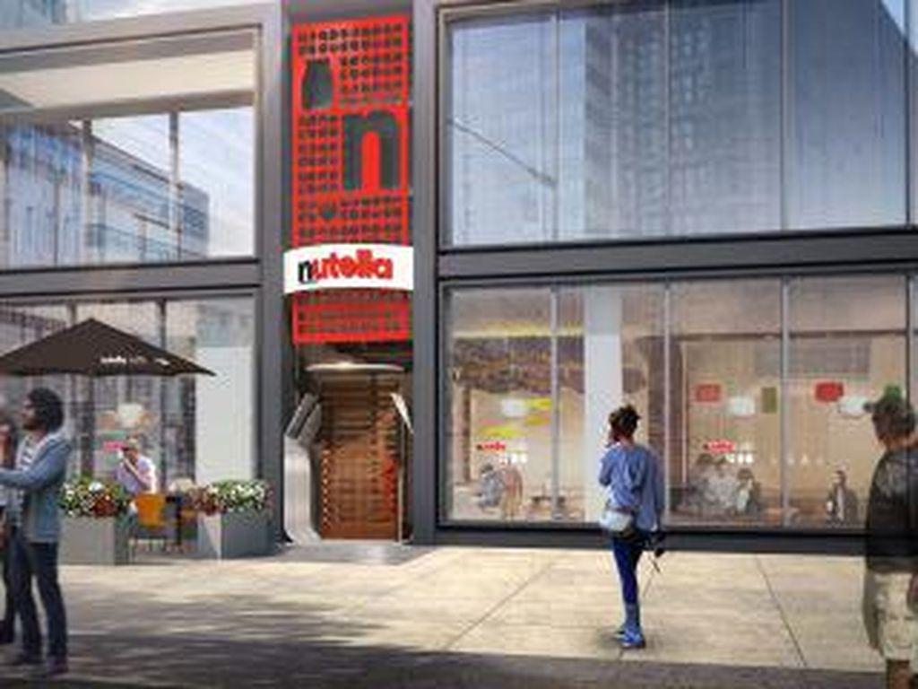 Kafe Resmi Nutella Pertama di Dunia Akan Segera Buka