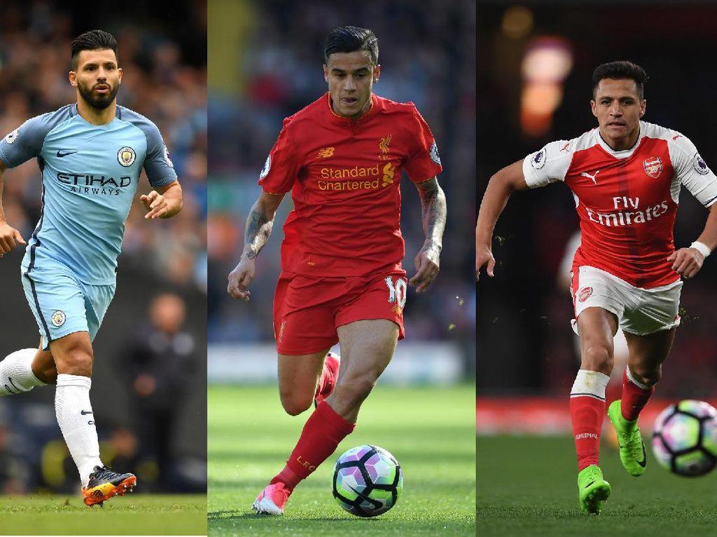 City, Liverpool, Arsenal, Siapa Dapat Tiket Liga Champions di Pekan Terakhir?