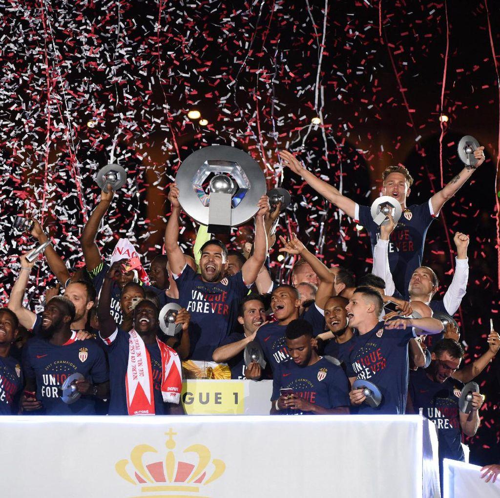 Bahagianya Monaco Usai Hentikan Dominasi PSG