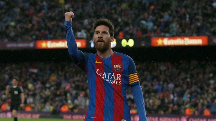 Bintang Barcelona dan timnas Argentina, Lionel Messi. Foto: REUTERS/Albert Gea