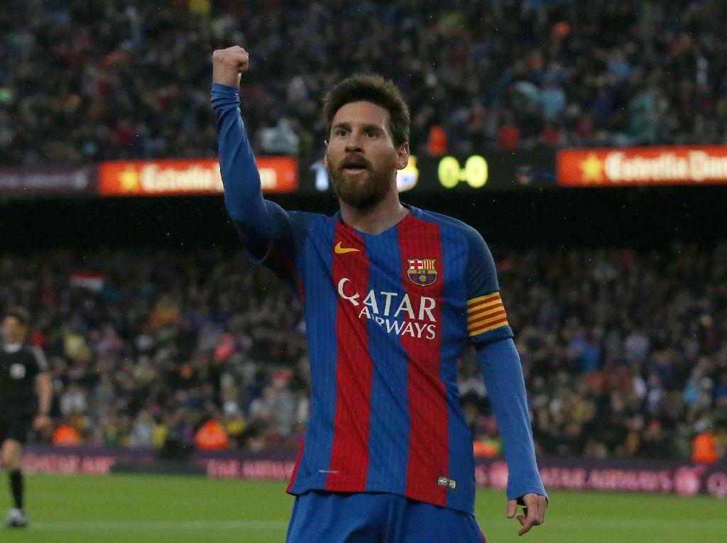 Messi Teratas untuk Raih Sepatu Emas Eropa, Bisa Samai Ronaldo