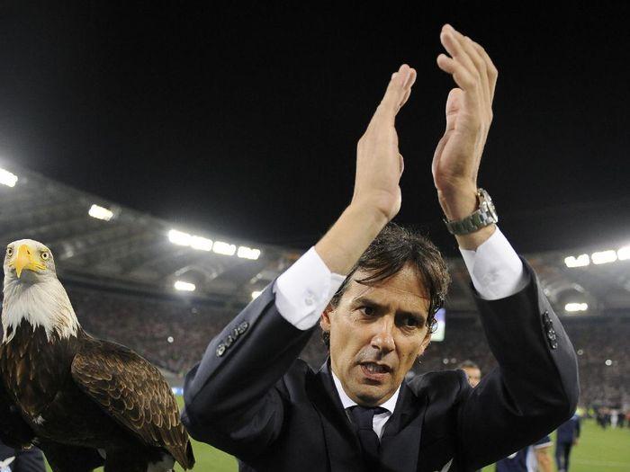 PElatih Lazio, Simone Inzaghi, dikaitkan dengan Juventus. (Foto: Getty Images/Marco Rosi)