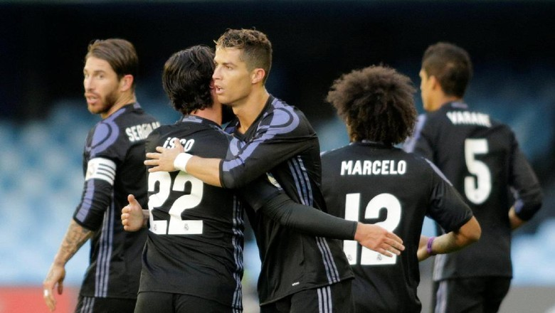 Musim Kesembilan 100 Gol Plus Real Madrid