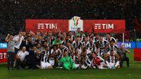 Juventus Jaga Peluang Treble