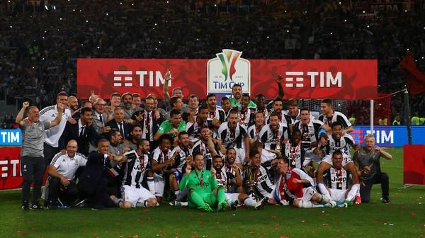 Juventus Jaga Peluang <i>Treble</i>