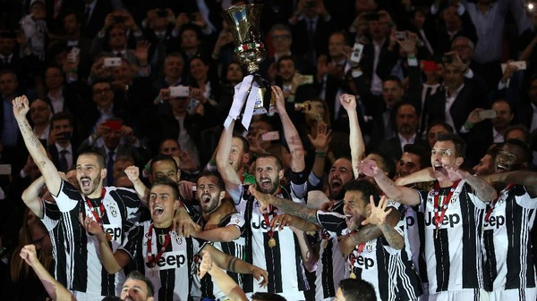 Juara Coppa Italia Tiga Kali Beruntun, Juve Catat Sejarah
