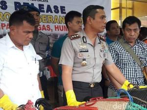 Polisi Tangkap Pelaku Judi Sabung Ayam di Tangerang