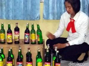 Jelang Ramadan, Polres Rembang Sita Ratusan Miras