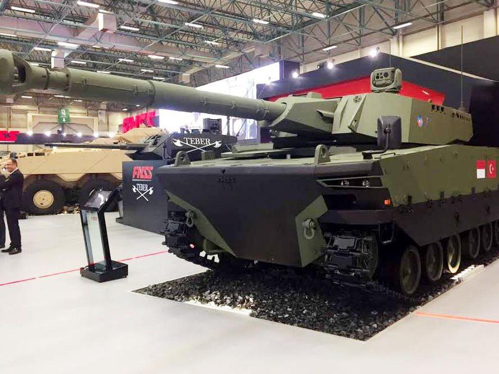 Begini Penampakan Tank Buatan RI dan Turki