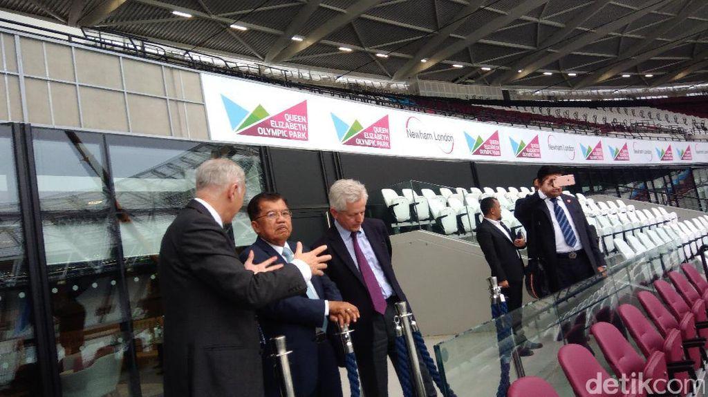 Kunjungi Queen Elizabeth Olympic Park, JK Mau Gelaran Asian Games 2018 Selevel Olimpiade