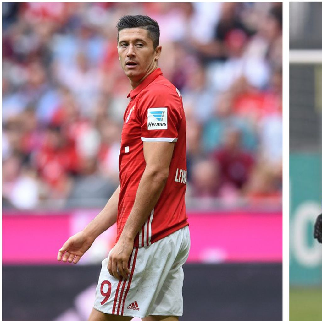 Lewandowski vs Aubameyang untuk Torjägerkanone