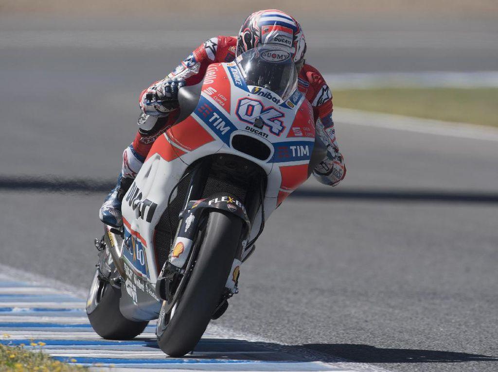 Ungguli Marquez, Dovizioso Tercepat di Sesi Kedua
