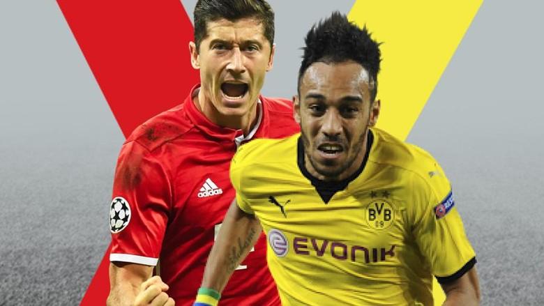 Topskorer Bundesliga untuk Lewandowski atau Aubameyang?