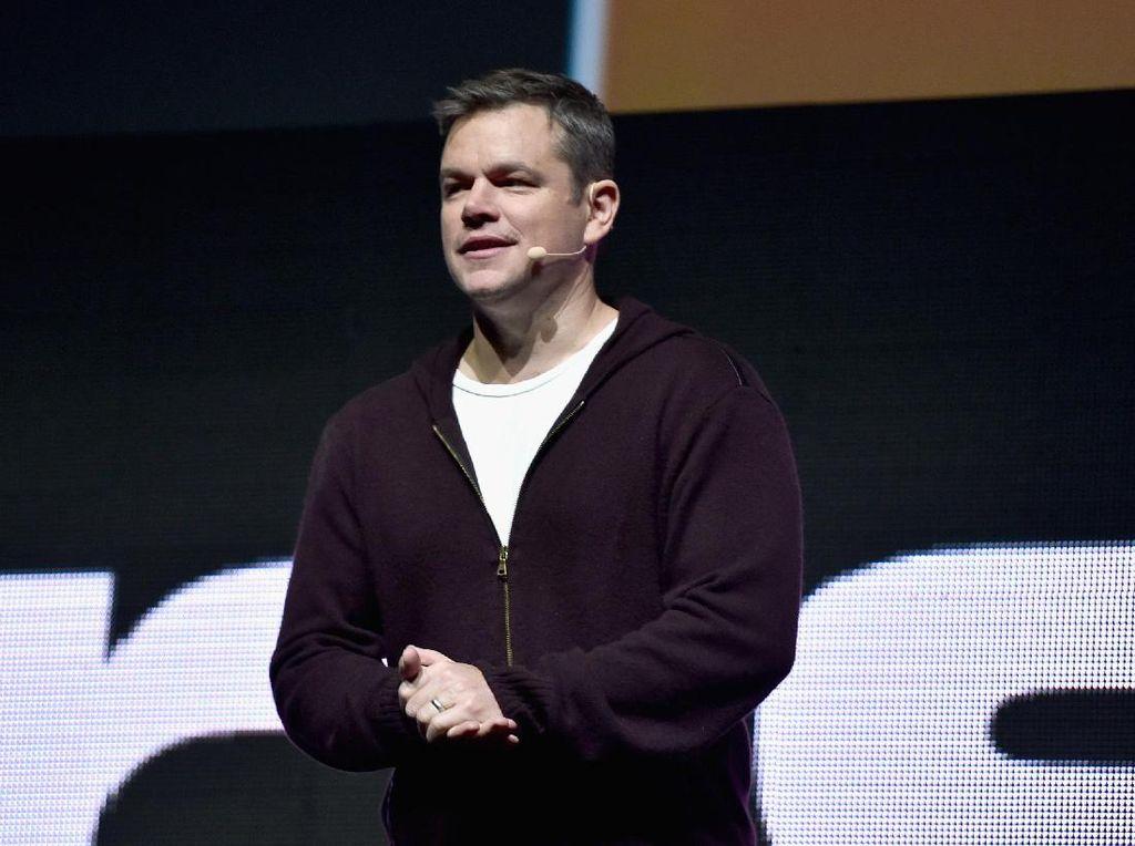 Melihat Aksi Matt Damon Blusukan di Semarang