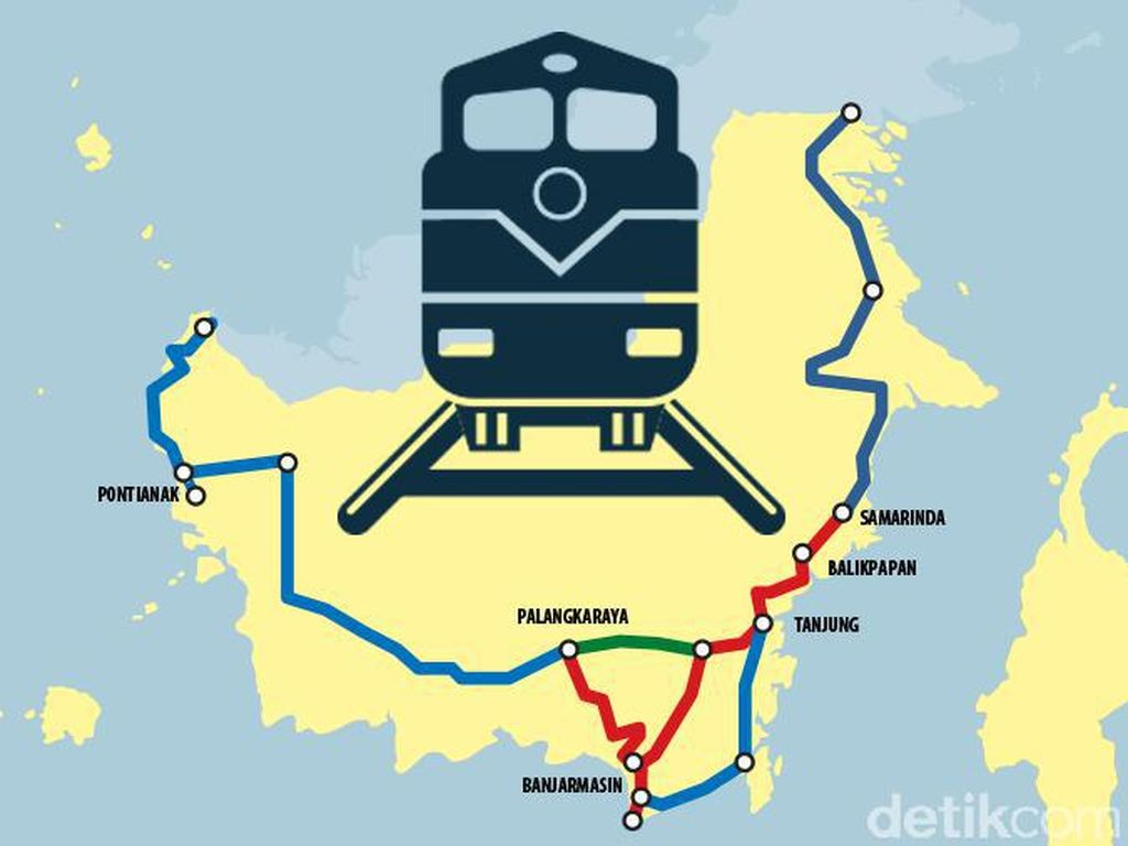 Mengintip Realisasi Pembangunan Infrastruktur Kereta Api di 2017