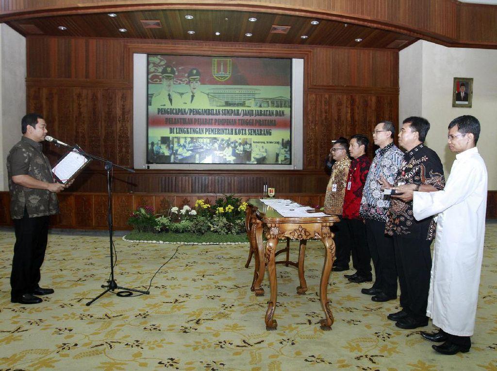 Teken Pakta Integritas, Pejabat Pemkot Semarang Harus Anti Pungli