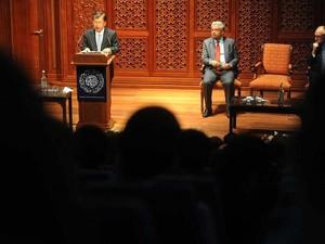 JK Beri Kuliah Umum di Oxford Centre For Islamic Studies