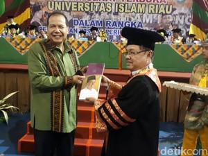 CT Beri Kuliah Umum ke 1.500 Wisudawan Universitas Islam Riau